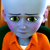 megamind: (Kid - Thinking Hard)