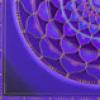 susanreads: quarter-mandala in purple tones (mandala)