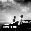 yourlibrarian: Sam and Dean move on in the Impala (SPN-MovingOn-exp0se)