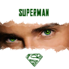 svgurl: (smallville: clark superman eyes)