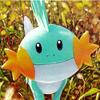 pyrrhocorax: mudkip is smiling at you (Mudkip!)