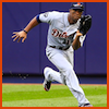 coprime: Austin Jackson doing what he does best (Detroit Tigers baseball)