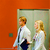 "horchata: Picture of Cameron and Chase from ""House"" walking in line in the halls of PPTH (one by one in the red hall)"