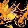 halialkers: Helios in chariot drawn by three winged horses (Anarzaea H'vat Kanari)