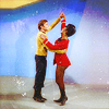 katiemariie: TOS-era Uhura and Chekov dancing on Mudd's planet. (Dancing Uhura)