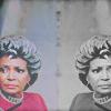 katiemariie: Uhura from STV staring upward. (Double Uhura)