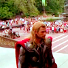 mjolnir_retriever: Thor looking both sober and very out of place in the middle of Central Park. (stranger in an alien crowd)
