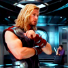 mjolnir_retriever: Thor, arms crossed, pondering serious matters. (thoughtful and bicep-y)
