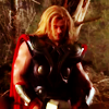 mjolnir_retriever: Thor in a forest, back to a tree, looking downwards. (outside at Milliways)