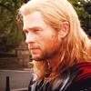 mjolnir_retriever: Thor in sunlight, looking amiably neutral. (sunlit listening)