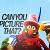 "cinco: Dr. Teeth asks, ""Can you picture that?"" (muppets: can you picture that?)"