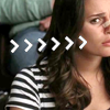 beerebutterfly: An Icon of Rachel Berry looking confused with her nose broken (Confused Rachel)