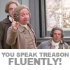 sreya: (Politics - You speak treason!)