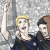 qs63: Football AU (Avengers, Marvel, Steve, Tony)