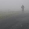 ultranos: figure walking into the foggy future (keep walking)