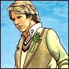 melannen: The fifth doctor, looking pensive (fivey)