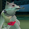 determinedhowl: (『...』 yes. it's a dog with a knife)