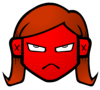 metahacker: Grumpy-looking red cartoon face (grumpy)