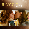 "havocthecat: willow and tara from btvs are kissing, with the text ""havoc the cat""  (btvs willow/tara havocthecat)"