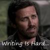 luxorien: Writing Is Hard! (chuck)