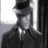 lady_yashka: Black and white picture of Dean Winchester in 1940's suit. (SPN-Dean 1940's B/W)