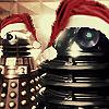 scutter: (Santa Daleks)