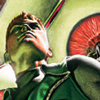 lasergirl: guy gardner from dc comics looking heroic (guy gardner is awesome)