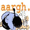 printfogey: Ranma from Ranma 1/2 expresses supreme frustration (ranma aargh)
