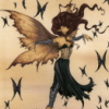 tricksters_queen: An Amy Brown print, Euphoria, showing a fairy leaning forward with her arms outstretched to either side. (Euphoria)
