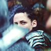 goodbyebird: SWATH: Snow White wearing armour in the field. (ⓕ you can't have my heart)