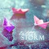 twistedsheets10: (paper boats, rain)