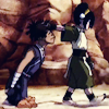 madri: Toph has Sokka by the short ones. Also by his hair. (Come with me manslave)
