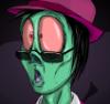 warriorinside: shocked zombie! (zombie)
