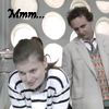thisiszircon: The Seventh Doctor admires one of Ace's best features. (doctor who)