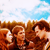 grlnamedlucifer: Doctor Who's Rory & Amy looking confused at Eleven ([who] better with three)