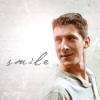 em_kellesvig: Methos smiling. (HLMethosSmile)