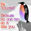 gemspegasus: (Be yourself)