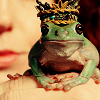 pensnest: frog wearing a crown (Crown Frog)