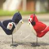 yeti: two birds sharing an ipod! (<3)