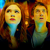 liviapenn: amy and rory looking up in wonder (who: biggest ups & downs)