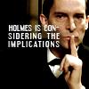 aglarien: (Holmes Considering by queensjoy)