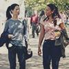 venusinthenight: joan watson and carrie dwyer walking toward the hospital (elementary - joan/carrie)