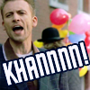 "applecameron: Ray Kowalski ""Khaaaan"" icon by murderdetective (murderdetective)"