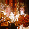 ladyrelaynie: the King and Queen from Ever After giggling (King and Queen Laughing)