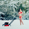 enjae: (mowing in the snow)
