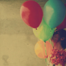 ext_442164: Colourful balloons (stock: standing in sunshine)