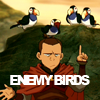 feuervogel: (enemy birds)