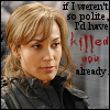 wychwood: Teyla would have killed you already, but she's too polite (SGA - Teyla kill you)