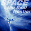 "sarnath: The starship Enterprise and the text ""SPACE the final frontier"" (SPACE the final frontier)"