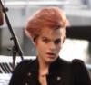 wynkat: Tommy pink hair TP promo
